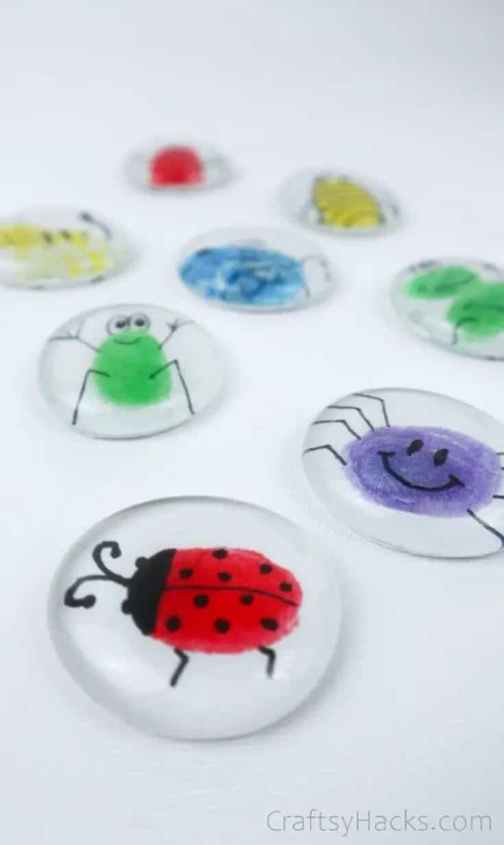 Fingerprint Glass Magnet