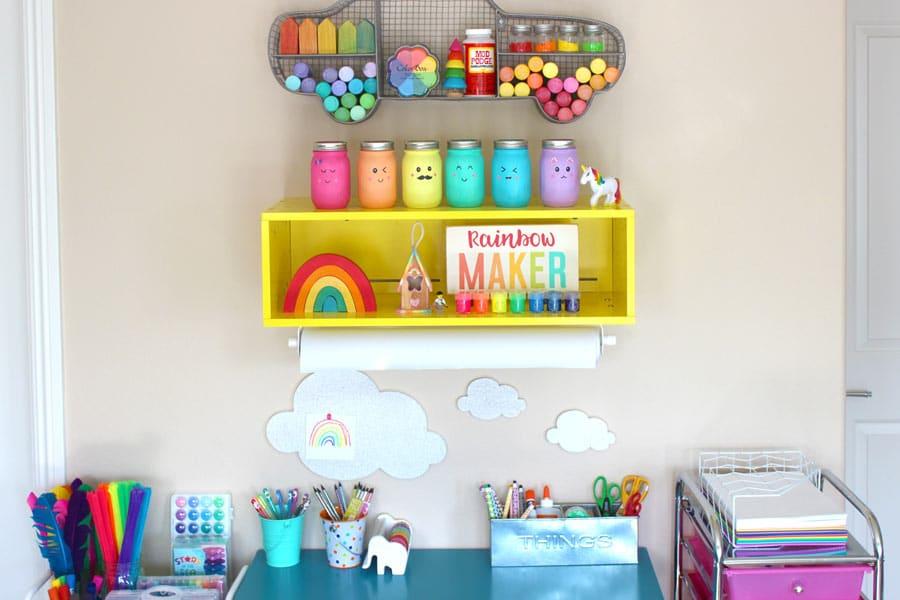 Corner DIY Craft Desk