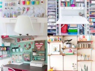 diy craft desk ideas