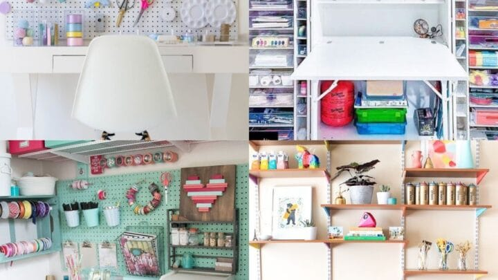 diy craft desk ideas