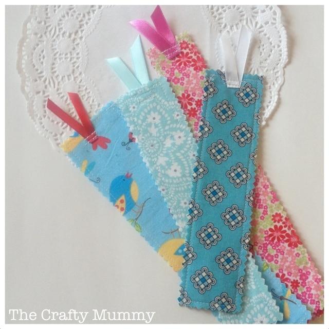 Fabric Strip Bookmark