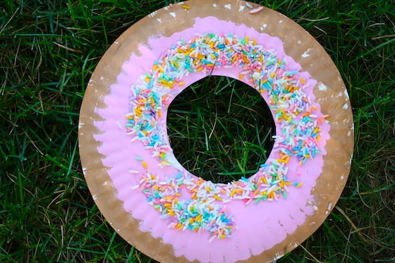 Paper Plate Donut
