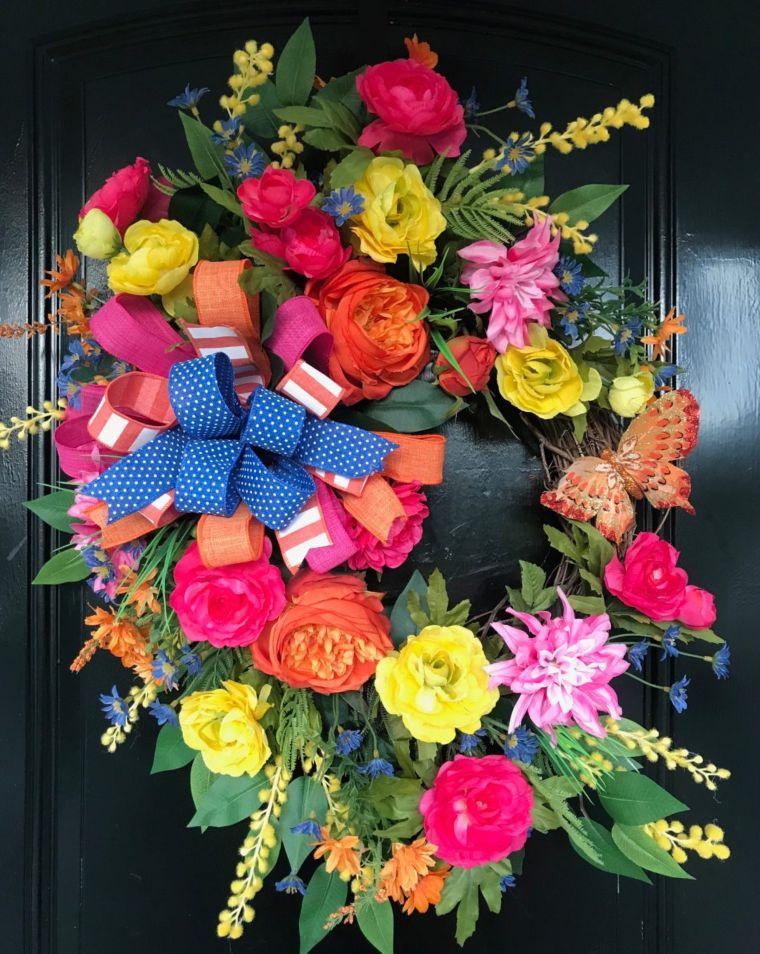 Summer in Bloom Wreath