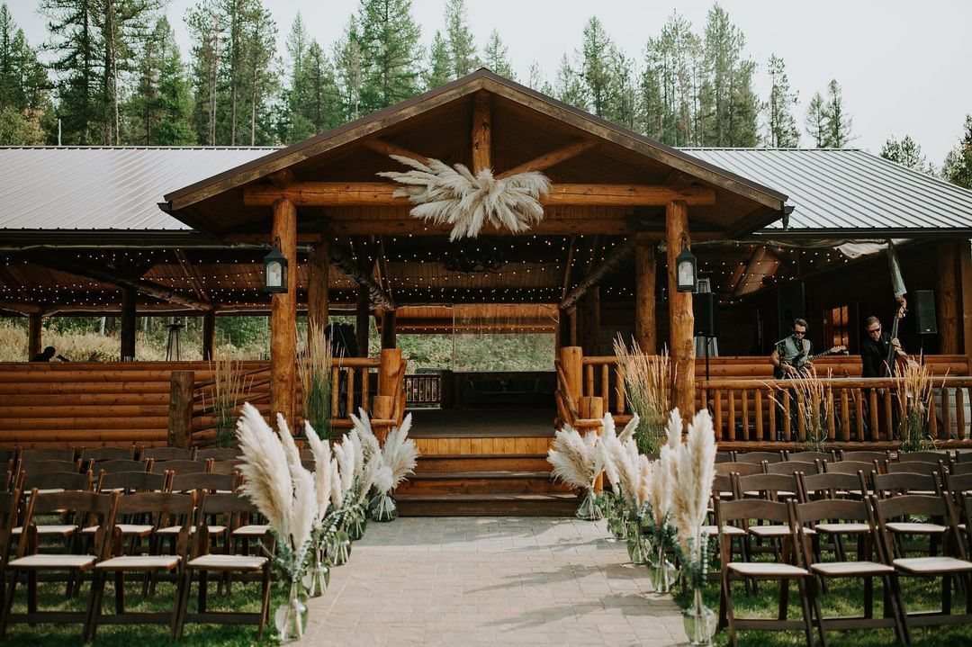 Log Cabin and Fairy Lights