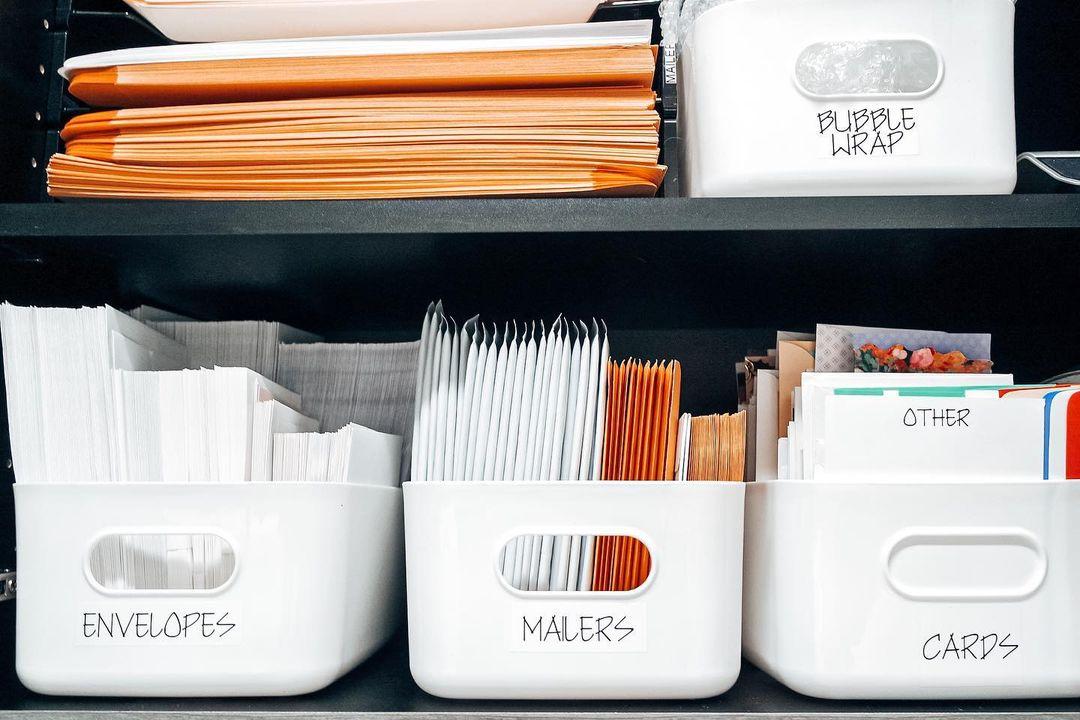 Office Supplies Organizer