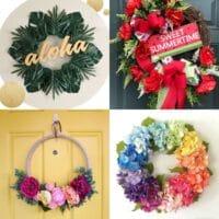 diy summer wreath ideas