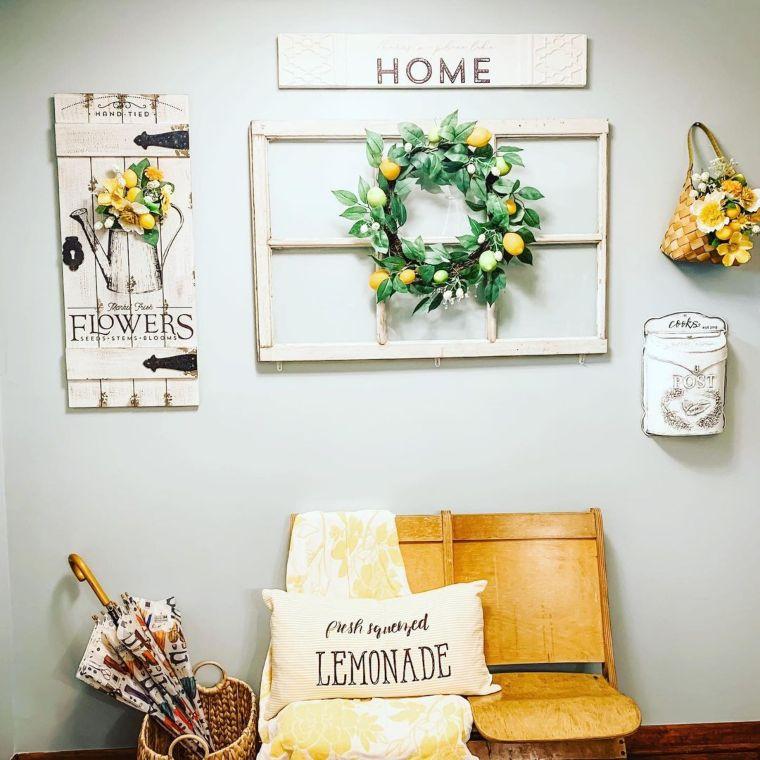 Summer Decor For Your Foyer