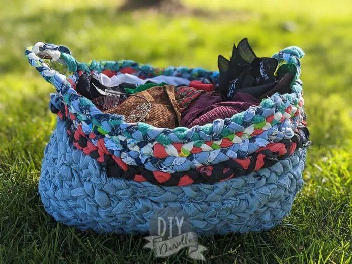 Braided basket