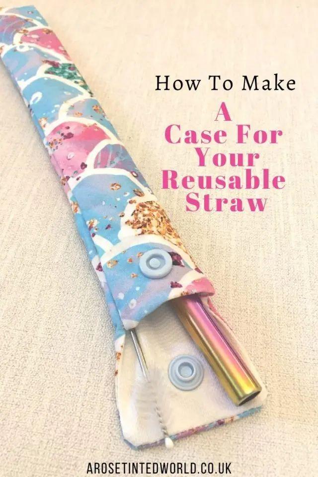 Reusable Straw Case