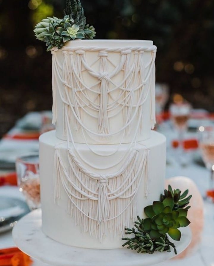 macrame cake