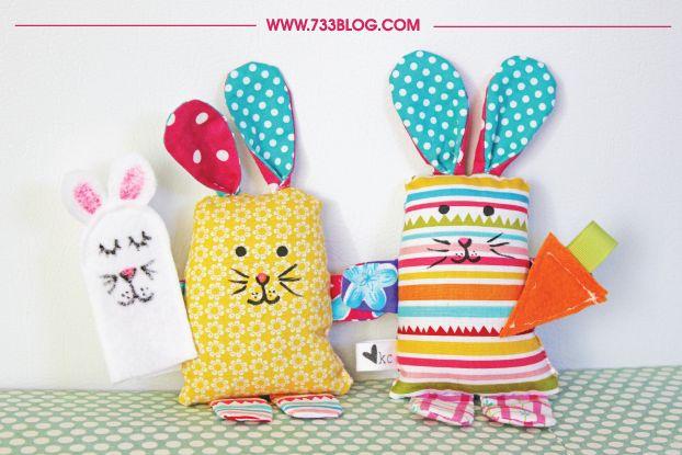 Stuffed Fabric Bunny