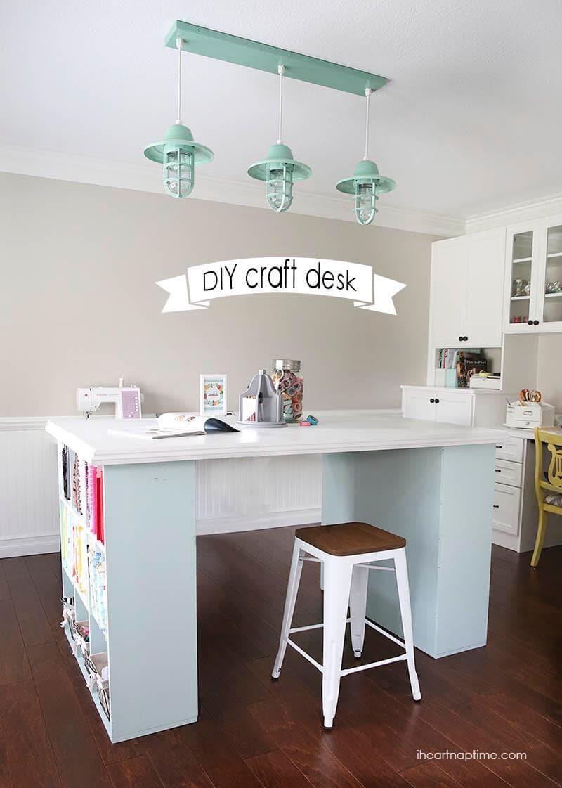 island counter desk