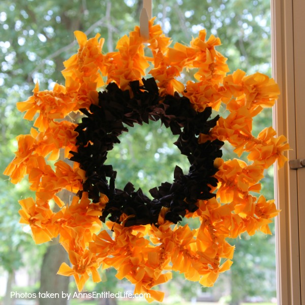 Sunflower Knot Wreath