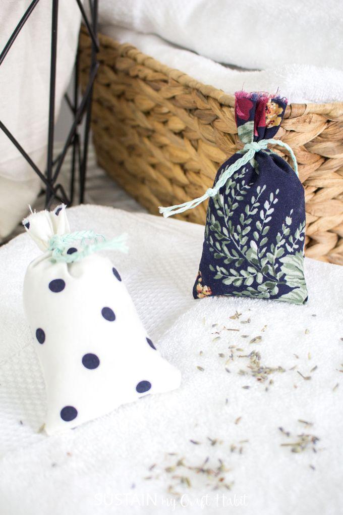 Homemade Lavender Sachet