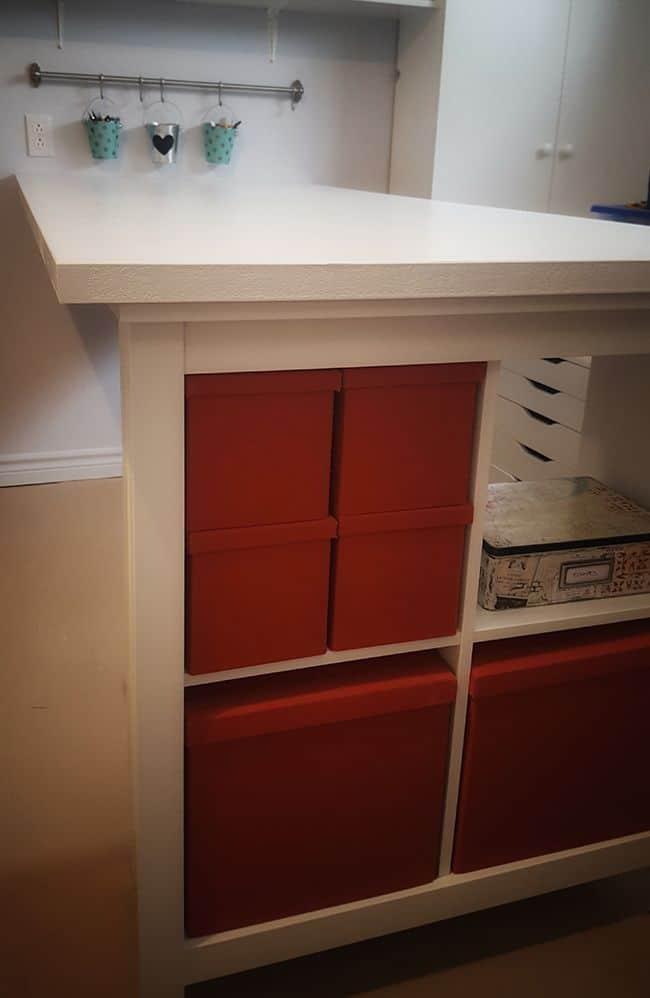 Door-To-Desk DIY Craft Table
