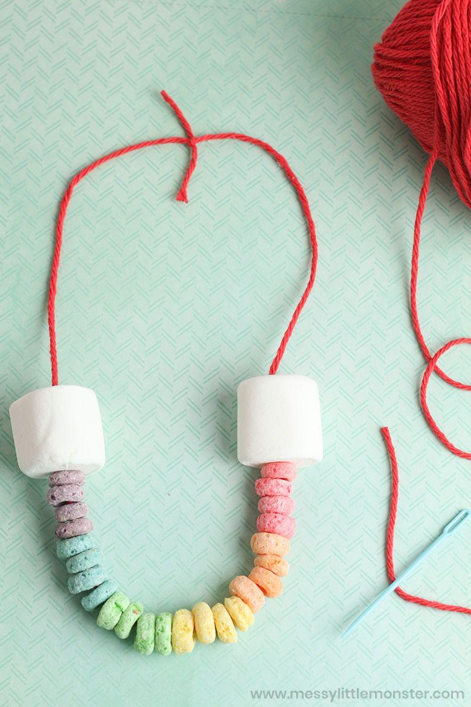 Rainbow Threading Craft