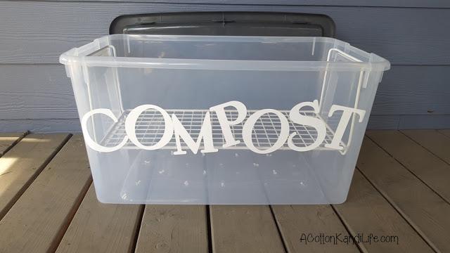 Compost Bin For Kids