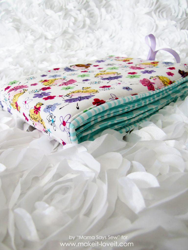 DIY Fabric Photo Album For Baby