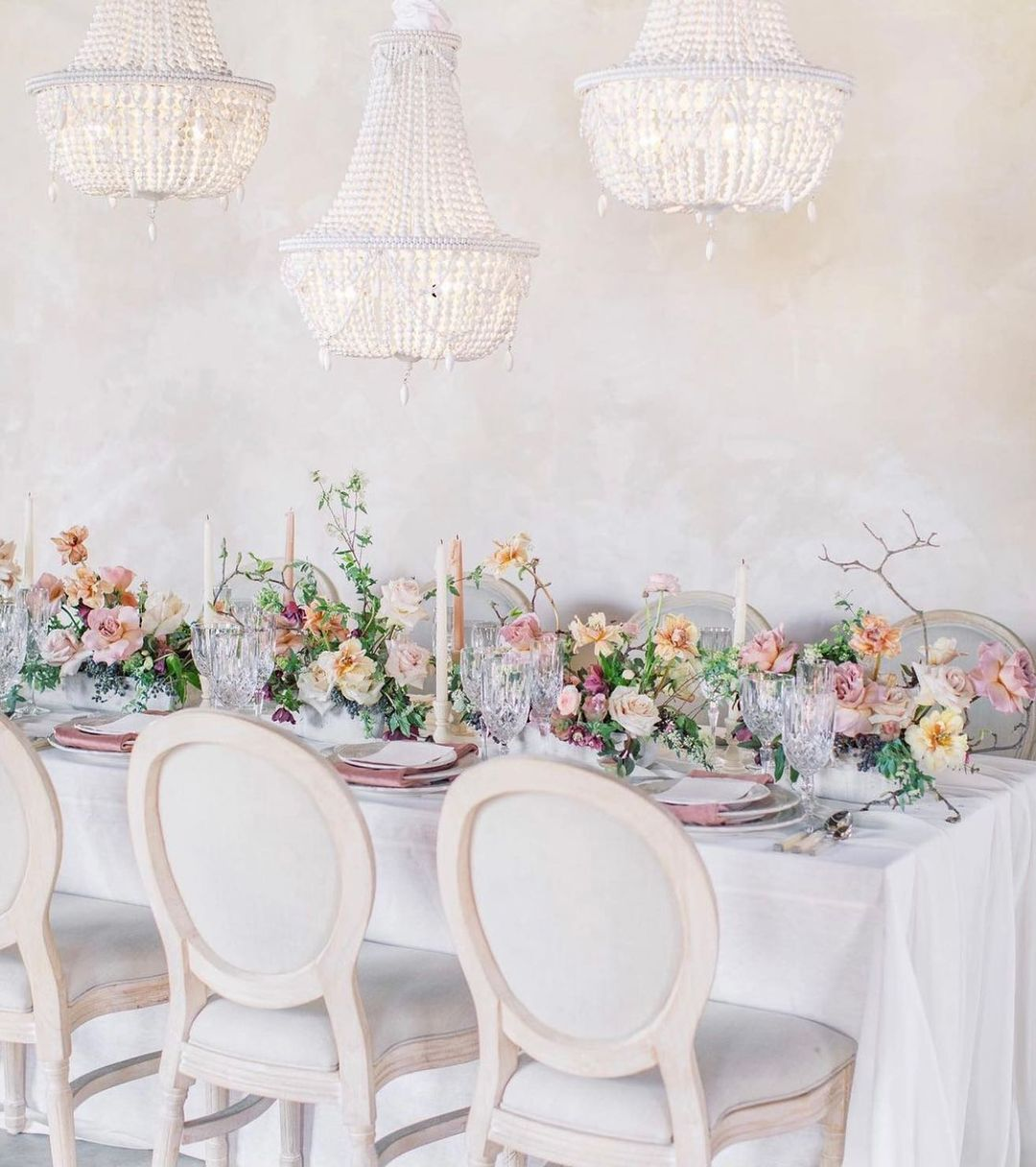 Chandeliers And Whimsical Decor