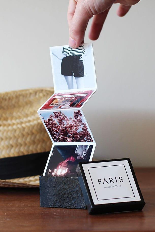 Tiny Travel Album Box