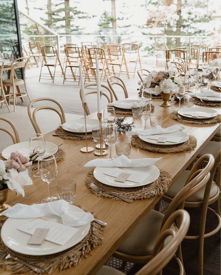 Rustic-Chic Wedding Table