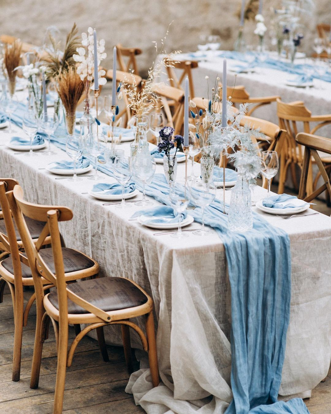 Beach-Blue Table Runner