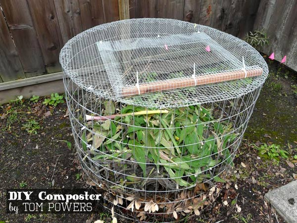 Compost Pit For Yard Waste