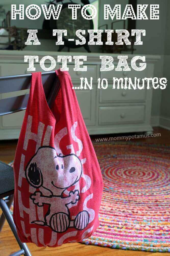 No-Sew Tote Bag