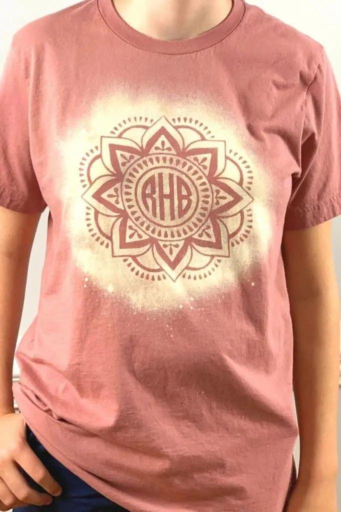 Bleached Stencil Shirts