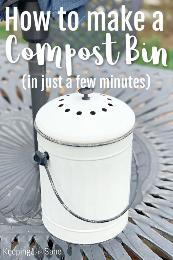 DIY Compost Bin In 15 Minutes