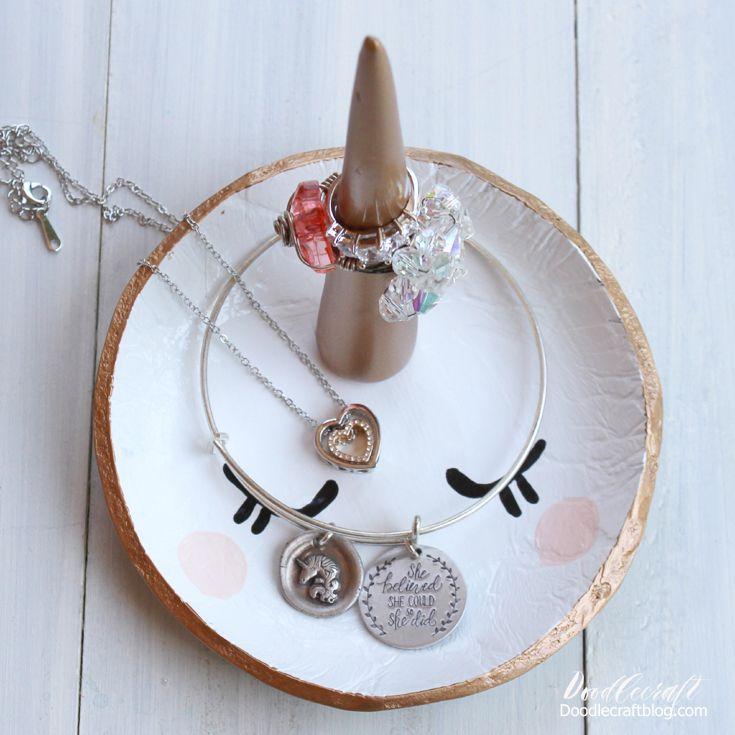 Resin Unicorn Ring Dish