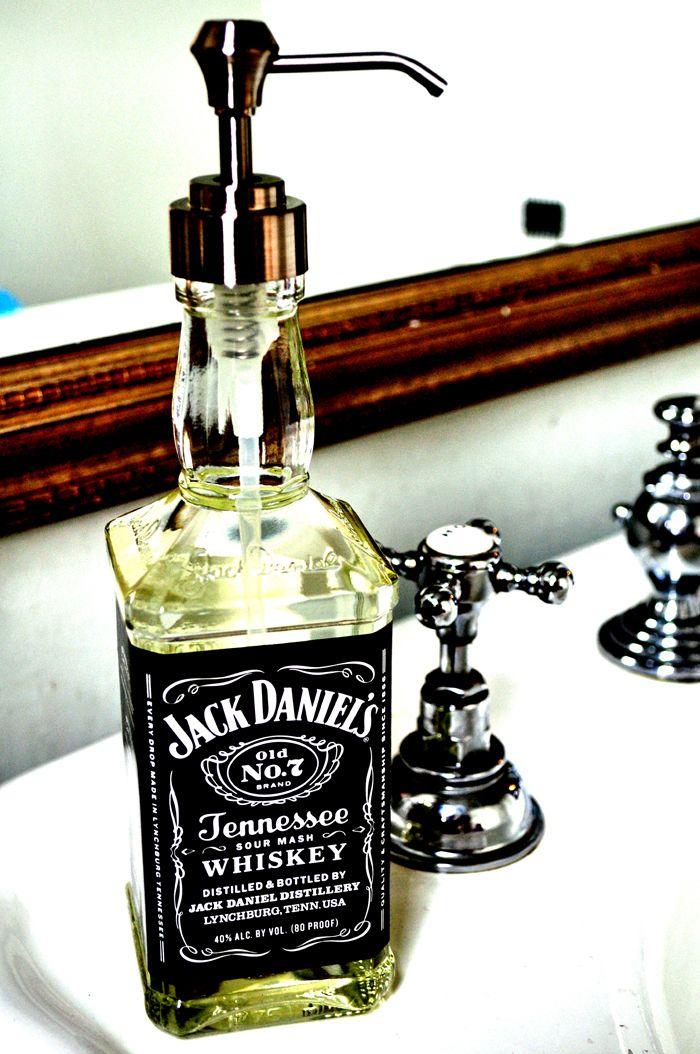 Jack Daniel Soap Dispenser