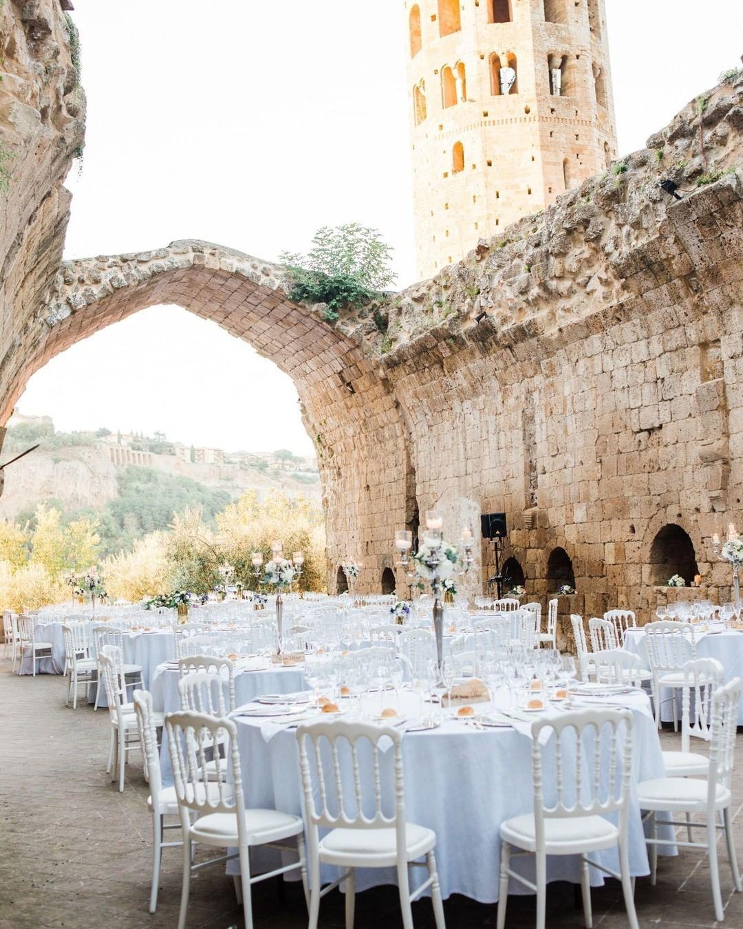 Wedding Reception At A Chateau