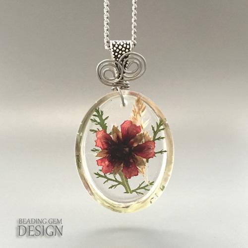 Pressed Flower Resin Jewelry