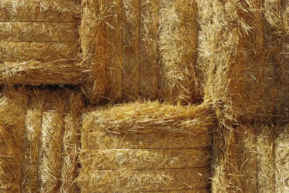 Straw Bale Compost Bin