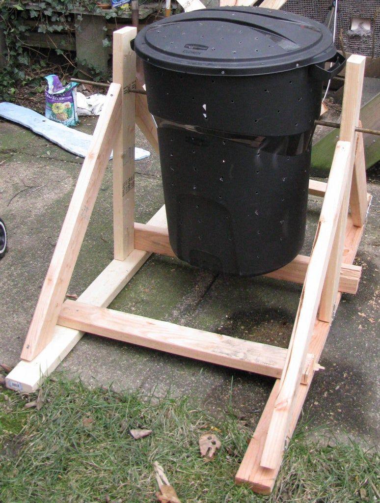 Garbage Drum Composter