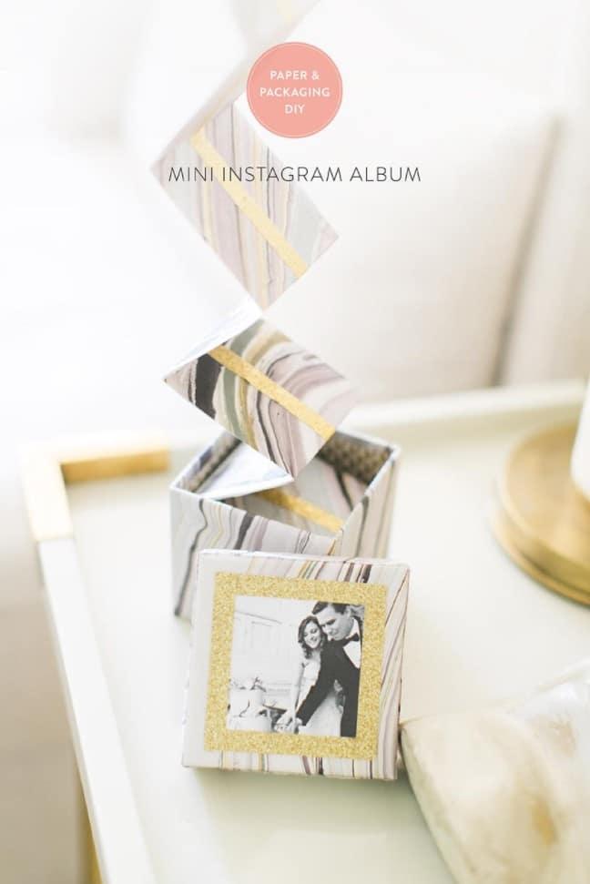 Magnetic Instagram Photo Box