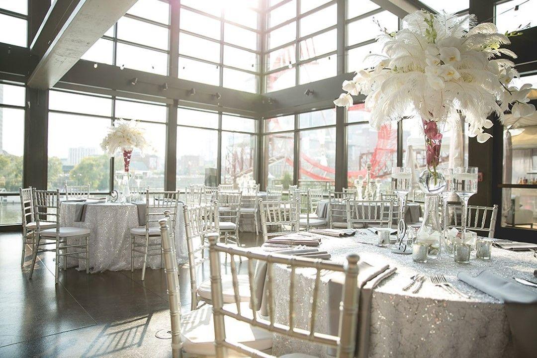 silver and glitter decor