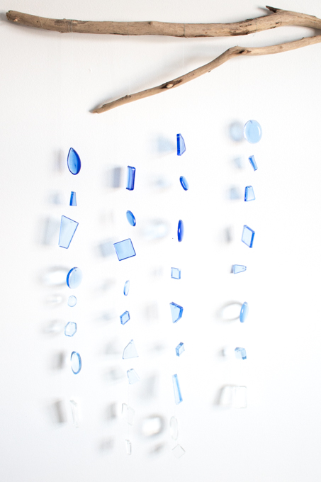 Faux Sea Glass Wall Hanging