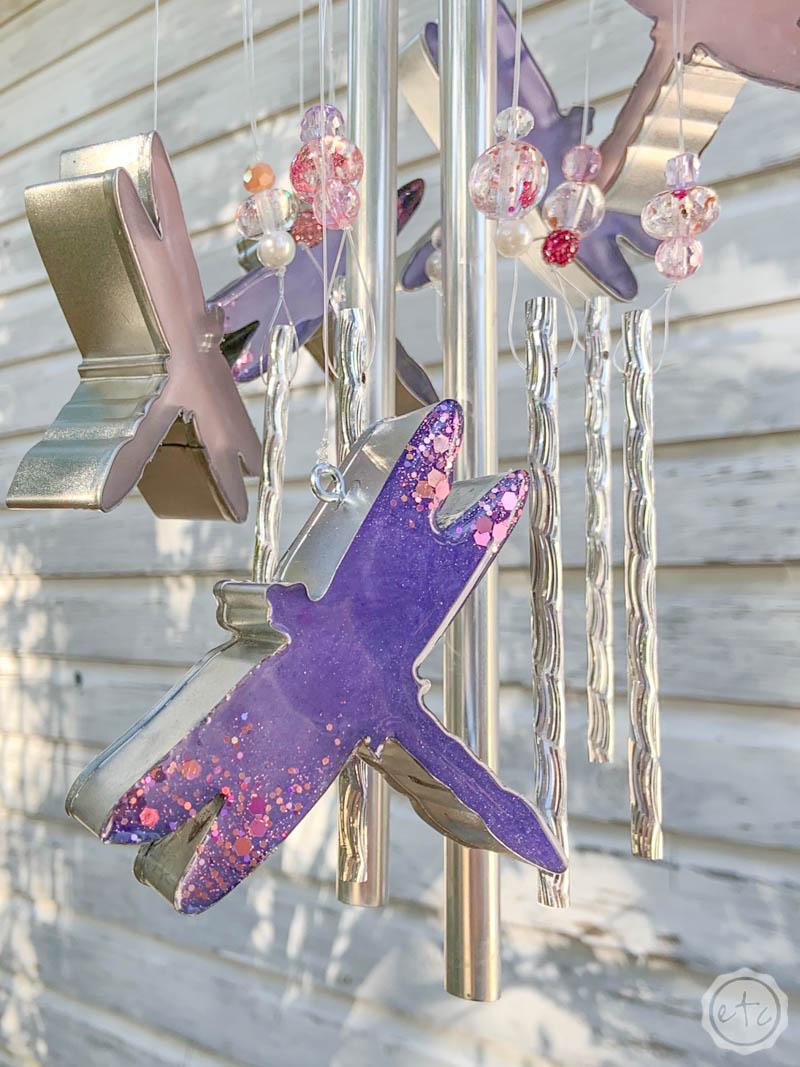 DIY Dragonfly Wind Chimes