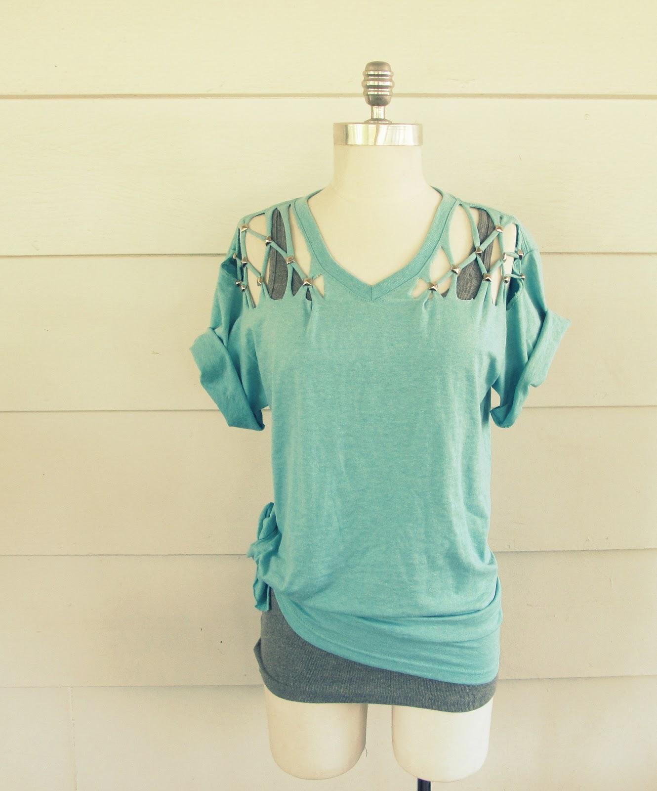 Lattice Stud T-Shirt