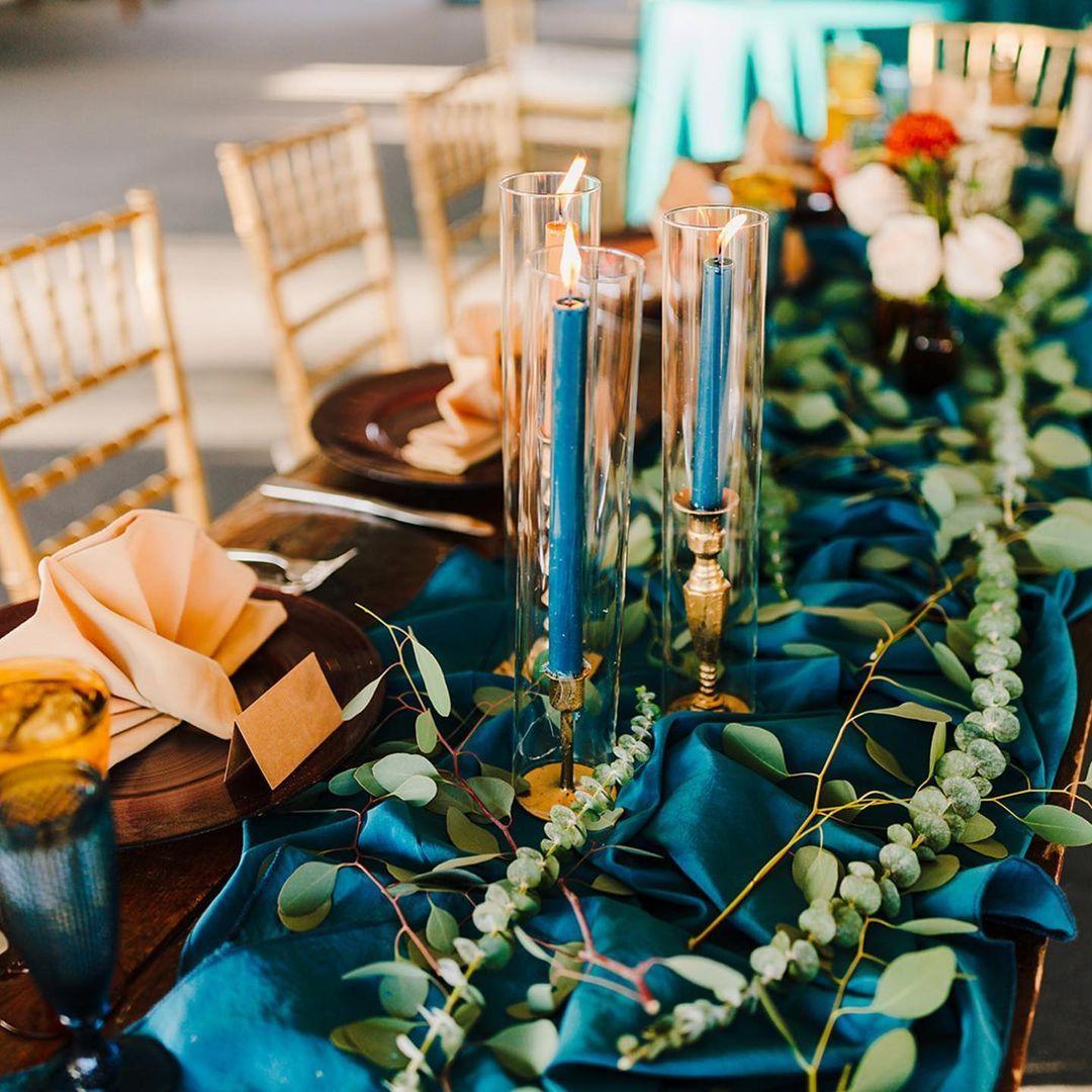 Mediterranean Wedding Table Decor