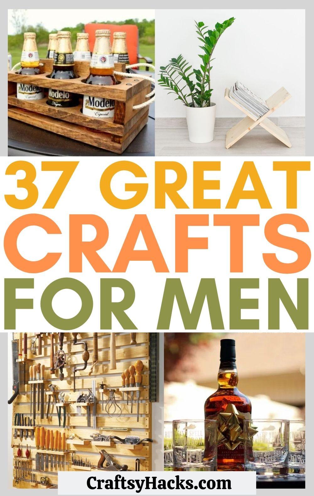 crafts for men