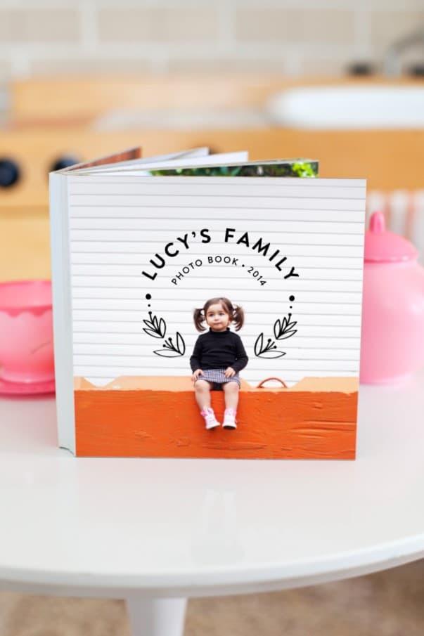 Photo Board Book