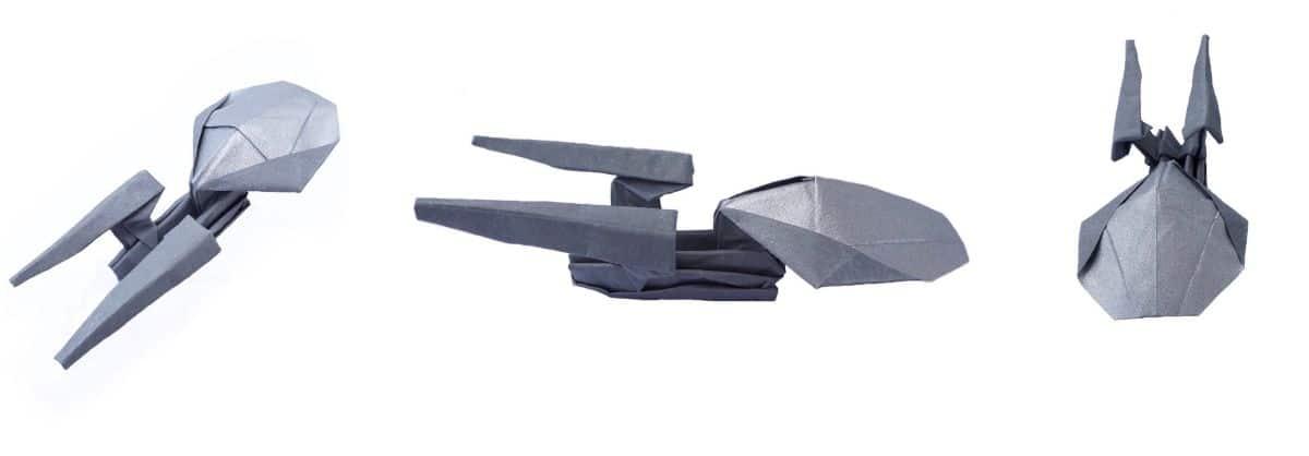 Starship Enterprise Origami Craft