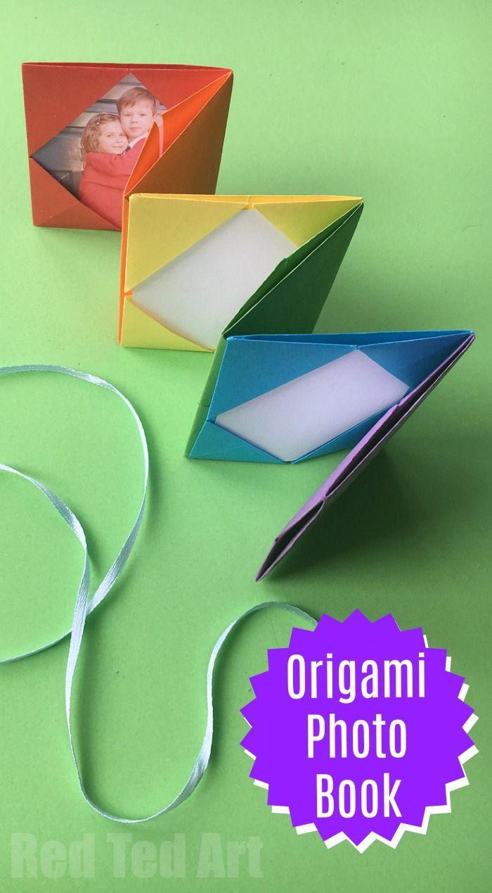 Mini Origami Photo Album