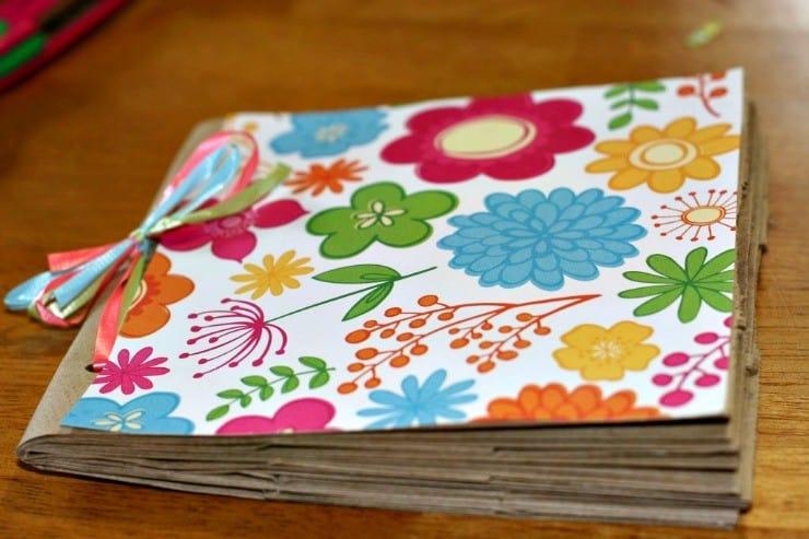 Lunch Bag Photo Album