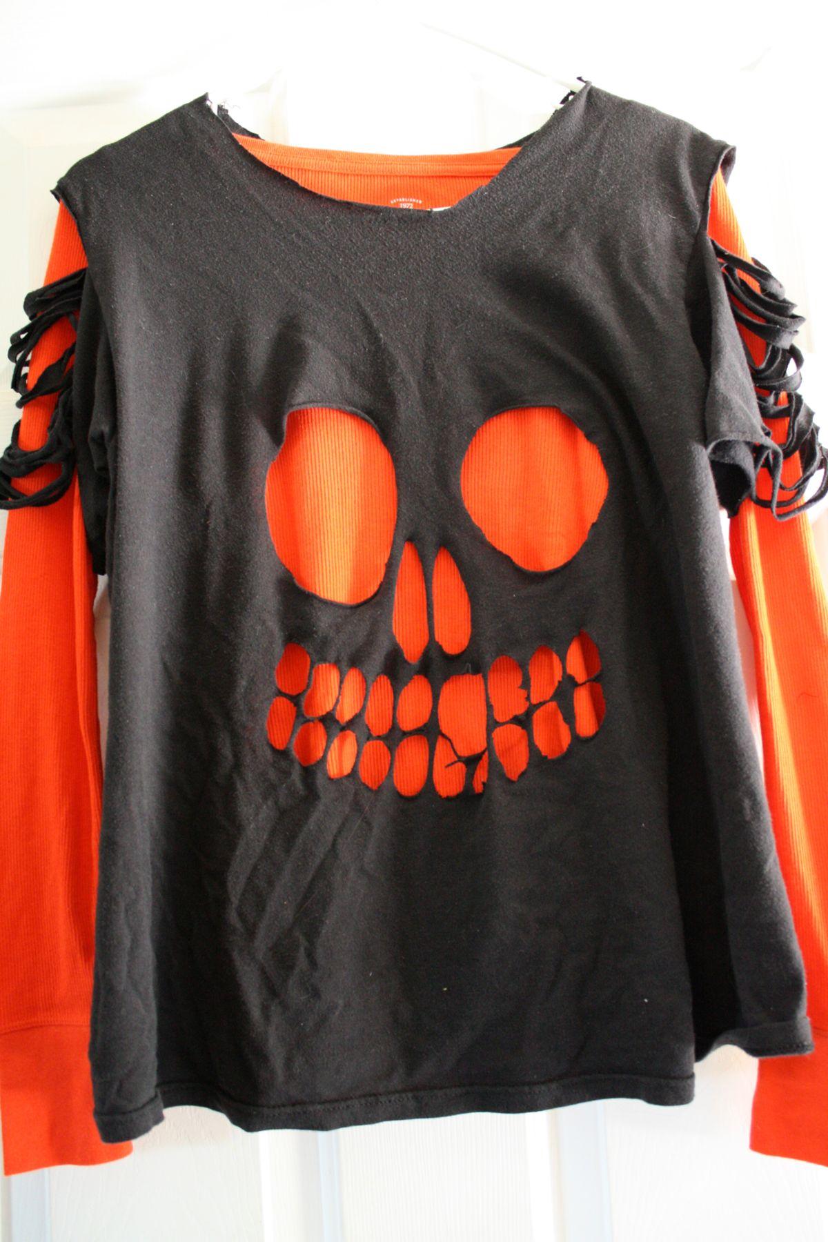 Recycled Skull T-Shirt