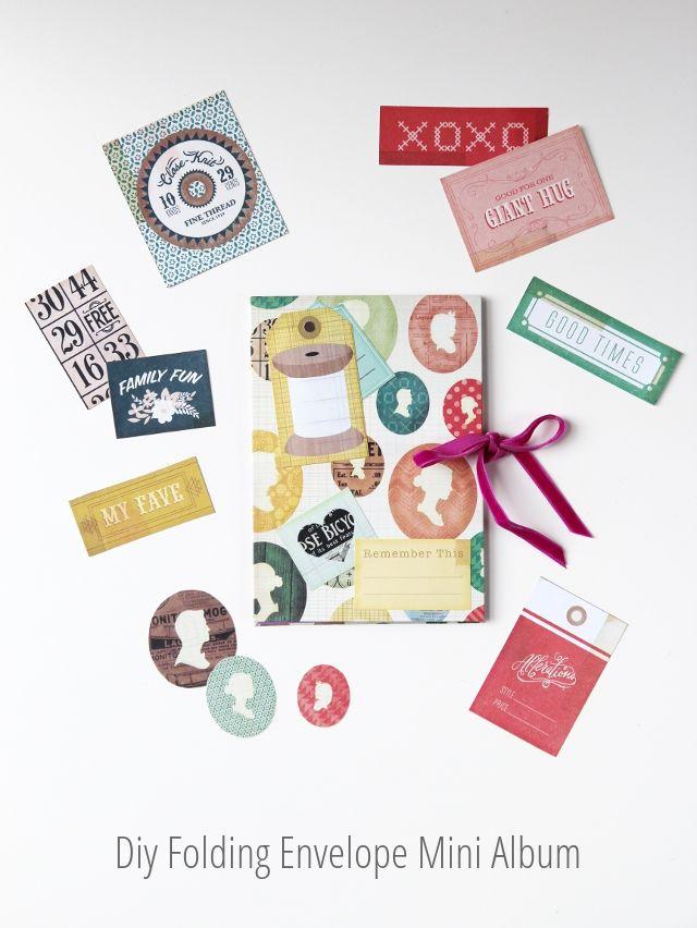 Folding Envelope Mini Album