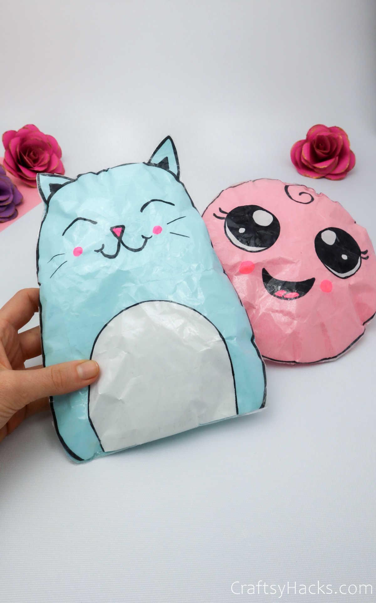 paper squishies